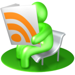 Green RSS reader